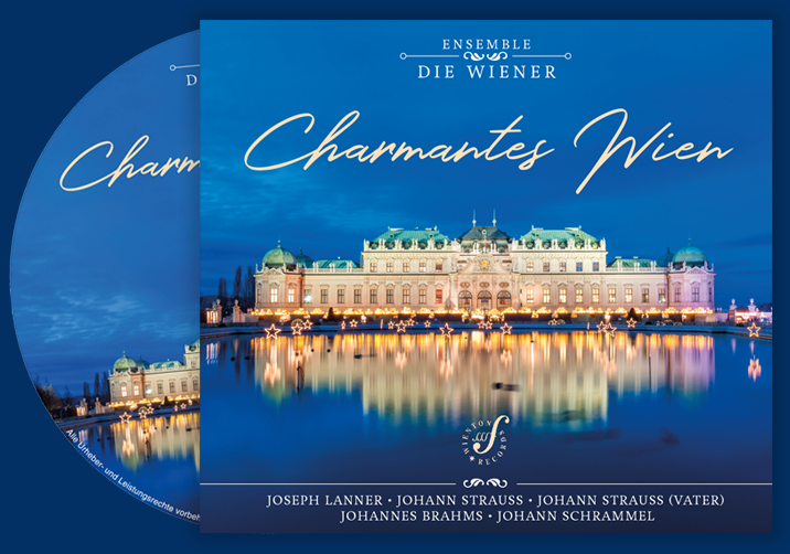 CD Cover Charmantes Wien