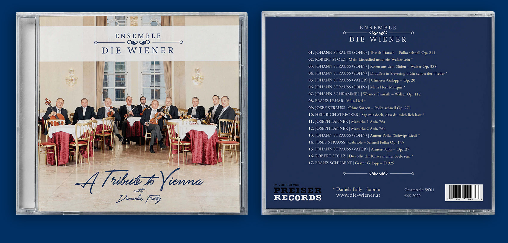 CD A tribute to Vienna